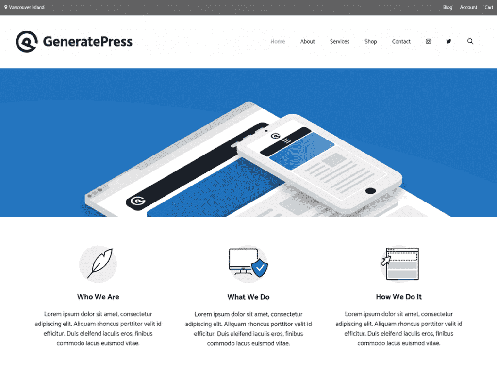 generatepress theme seo
