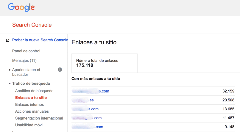 backlinks desde search