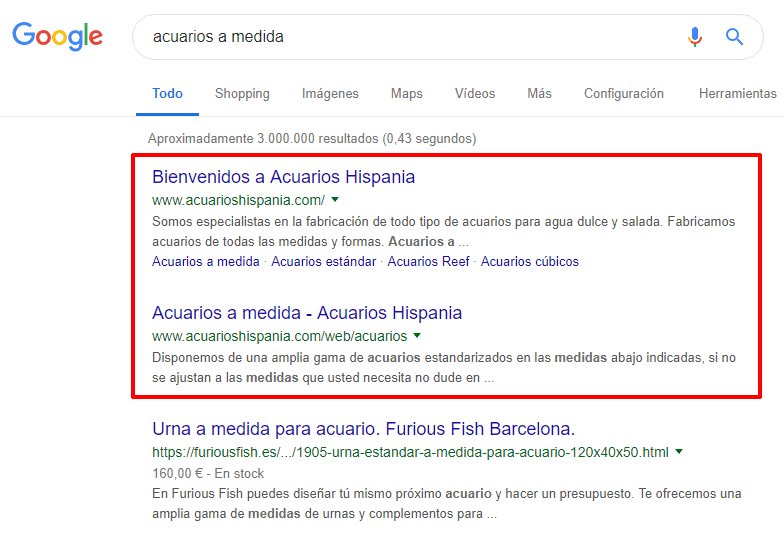 dominando las serps