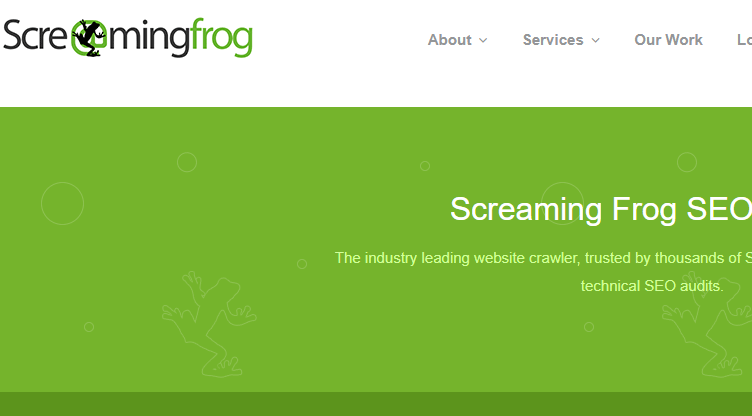screaming frog auditoria